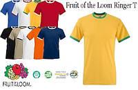 Футболка Fruit of the Loom Ringer T