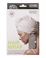 Тюрбан для сушки волос (коричневый) Smart Microfiber Оригинальная продукция из Швеции