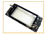 Сенсор (тачскрин) Nokia 5250 Black с рамкой Original