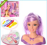 Кукла для для причесок и макияжа 323-2 ***