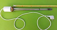 """Тэн нержавейка для чугунной батареи 2500W на резьбе 1 1/4""""(Украина) с итальянским терморегулятором(с колпаком), фото 1"""