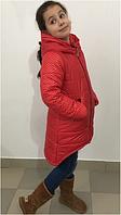 Куртка зимняя для девочки,подросток,7-10 лет
