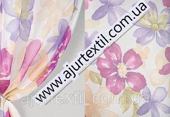 """Тюль французский кристалон  """"Весна"""", фото 2"""