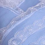 """Зимний конверт-одеяло на выписку """"Шарлотта"""" голубой, фото 5"""