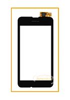 Сенсор (тачскрин) Nokia Lumia 530 Black Original