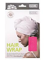 Тюрбан для сушки волос (розовый) Smart Microfiber|Оригинальная продукция из Швеции