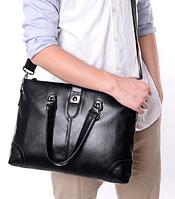 Мужская кожаная сумка. Модель 61286, фото 2