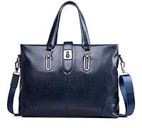 Мужская кожаная сумка. Модель 61286, фото 3