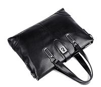 Мужская кожаная сумка. Модель 61286, фото 5