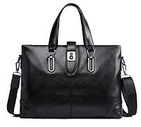 Мужская кожаная сумка. Модель 61286, фото 6