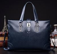 Мужская кожаная сумка. Модель 61286, фото 8