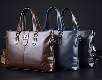 Мужская кожаная сумка. Модель 61286, фото 10