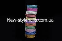 """Лента для дизайна ногтей """" Сахарная нить """", 0,3 мм, цвета в ассортименте, фото 1"""