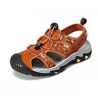 Верблюжьей женской одежды rv с защитой закрытого носка дрифт река сандалии цвет оранжевый / красный 05725612