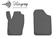 Seat Cordoba  2003- Комплект из 2-х ковриков Черный в салон. Доставка по всей Украине. Оплата при получении