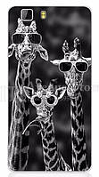 Чехол для Doogee X5 / X5 pro / X5s Бампер giraffes