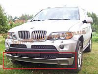 Накладка на передний бампер для BMW X5 E53 1999-2006 до рестайлинг