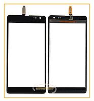 Сенсор (тачскрин) Nokia Lumia 535 Microsoft (CT2C 1607FPC-A1-E) Black Original