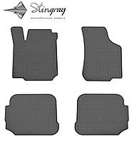 Seat Toledo II 1999-2004 Комплект из 4-х ковриков Черный в салон. Доставка по всей Украине. Оплата при получении