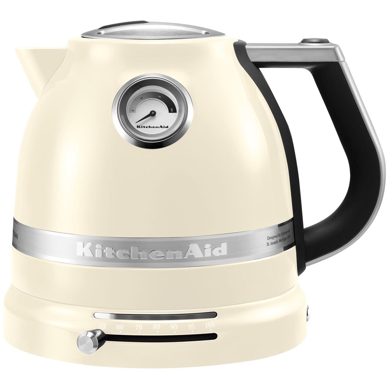 Электрический чайник КitchenАid 1.5 л кремовый 5KEK1522EAC