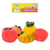 Продукты K-11 фрукты для купания, пищалки, 5 шт в кульке, 21-23-7 см