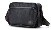Мужская кожаная сумка. Модель 61287, фото 8