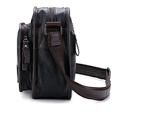 Мужская кожаная сумка. Модель 61287, фото 9