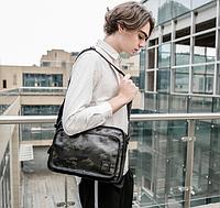 Мужская кожаная сумка. Модель 61287, фото 2