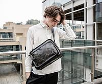 Мужская кожаная сумка. Модель 61287, фото 3
