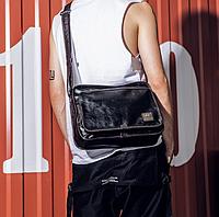 Мужская кожаная сумка. Модель 61287, фото 4