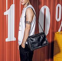 Мужская кожаная сумка. Модель 61287, фото 5