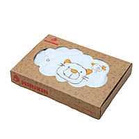 Коробка из крафт-картона подарочная упаковка детская одежда 26х16х4 см