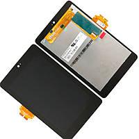 Дисплей (экран) для Asus ME370 Google Nexus 7 + тачскрин, цвет черный