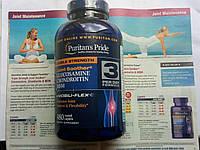 Глюкозамин хондроитин Puritan's Pride Double Strength Glucosamine,Chondroitin & MSM Joint Soother 480 Caplets