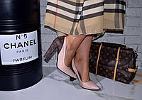 Женские туфли розовые Луи Витон