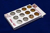 Набор бульонок, золото и серебро, 12 шт., фото 1