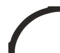 Плинтус потолочный Премьер Декор 56*56 (PB 80)