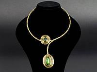 Ожерелье с подвеской металлическое
