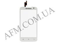 Сенсор (Touch screen) Lenovo A516 белый оригинал