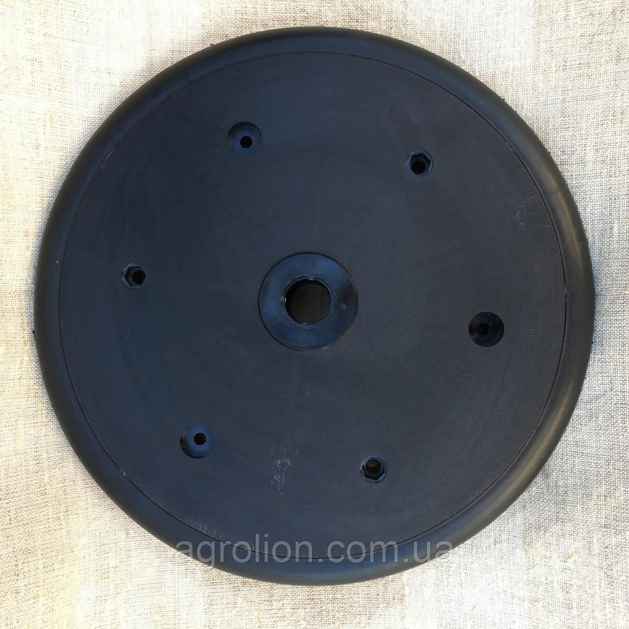 """Прикотуюче колесо в зборі ( диск поліпропілен ) без підшипника  1"""" x 12"""",John Deere, Great Plains, Monosem, K"""