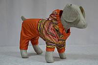 Комбинезон-дождевик  для собак Орнамент