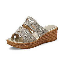 Для женщин Сандалии Удобная обувь клуб Обувь Лак Материал на заказ клиента Весна Лето Осень Свадьба Для праздника Для вечеринки / ужина 05652442