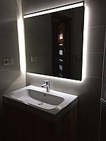 Зеркало с LED-подсветкой по периметру