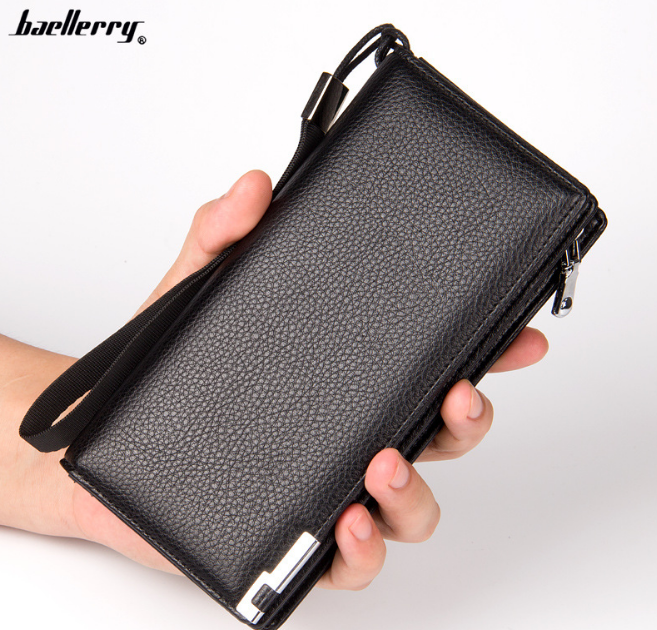 Мужской клатч, портмоне, кошелек Baellerry Classic Leather