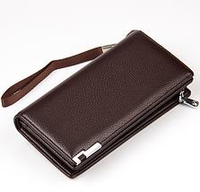 Мужской клатч, портмоне, кошелек Baellerry Classic Leather, фото 3