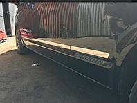 Накладки на молдинг двери Volkswagen T5/ Т6, Д.Б. нерж.