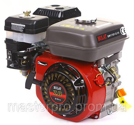 Двигатель бензиновый Bulat BW170F-S/19, фото 2