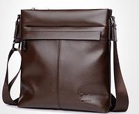 Мужская кожаная сумка. Модель 61290, фото 2