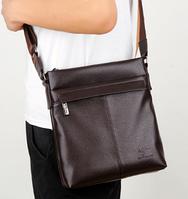 Мужская кожаная сумка. Модель 61290, фото 9