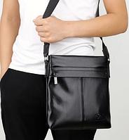 Мужская кожаная сумка. Модель 61290, фото 10